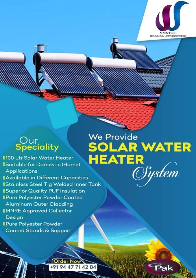 Social Media Poster In 2020 Social Media Poster Solar Water Heater Solar Water