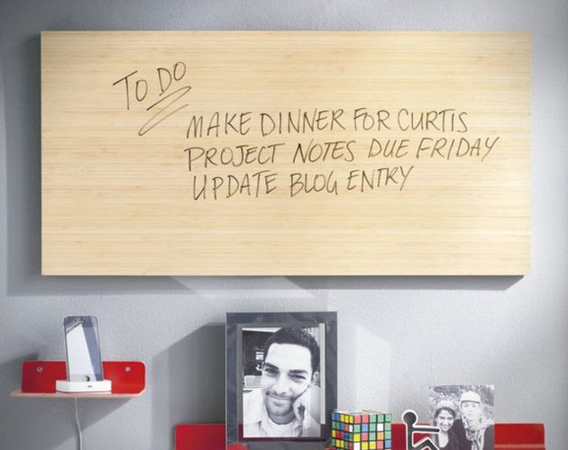 Bamboo Dry Erase Board: Office, Erase Board, Idea, Bamboo Dry, Dryerase, White Board, Accessories, Diy, Dry Erase