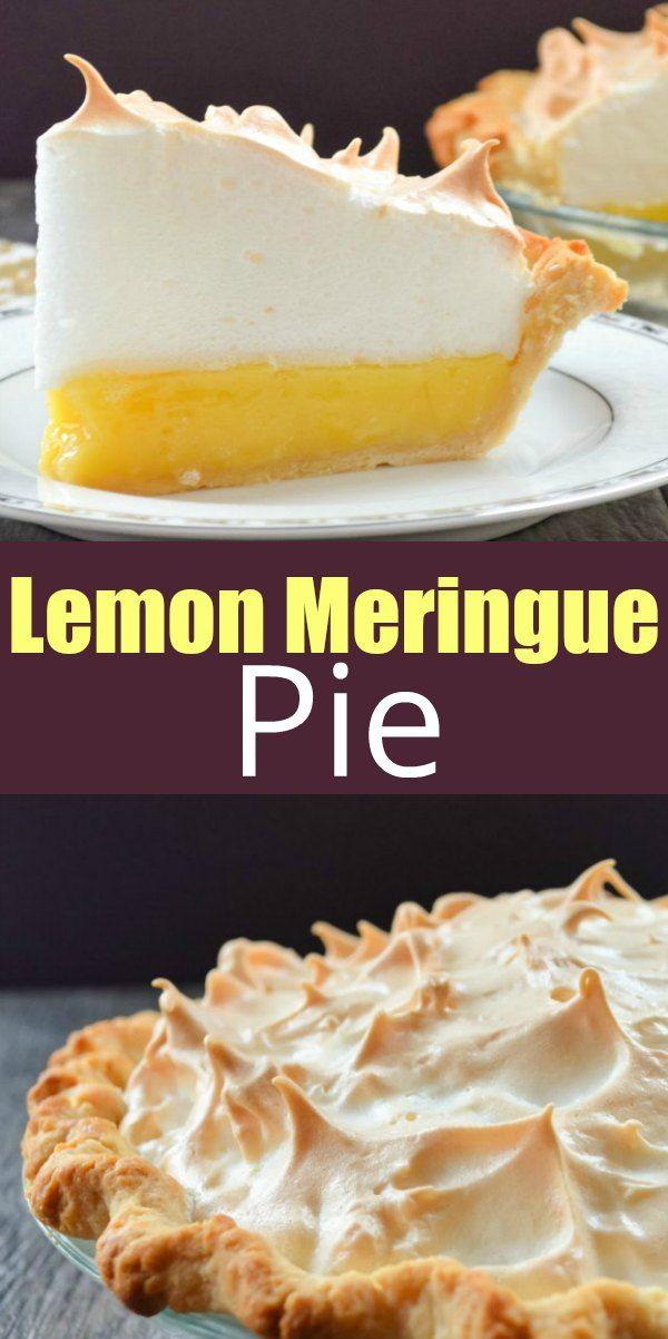 Lemon Meringue Pie Recipe With Weep Free Meringue Meringue Pie Recipes Lemon Meringue Pie Easy Best Lemon Meringue Pie