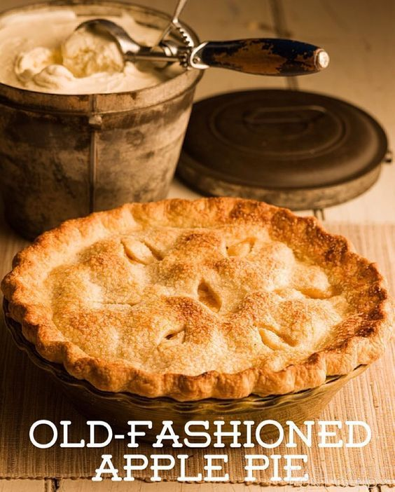 Recipe of the Day!> Old-Fashioned Apple Pie> Apple pie is at its best the next morning for breakfast!