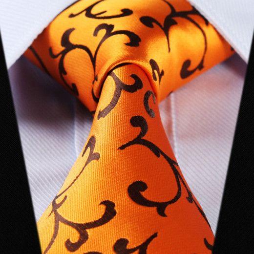 Luxusná pánska sada - kravata a vreckovka - vzor14