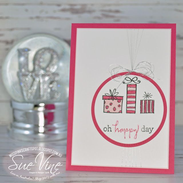 Miss Pinks Craft Spot: Happiest of Days | Pretty in Pink for #GDP090