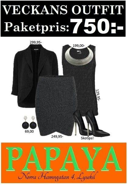 Kläderna finner du på www.papayalysekil.se