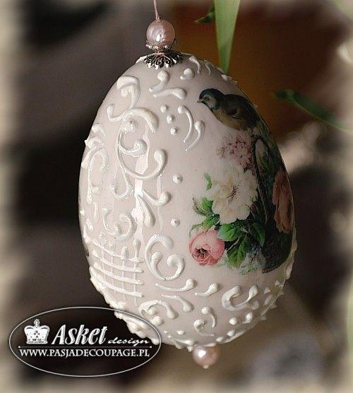 Jaja wielkanocne - klasyczne wydmuszki z reliefem