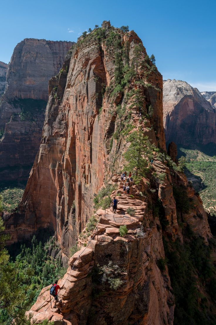 Angels Landing, Zion National Park, Utah | Zion national
