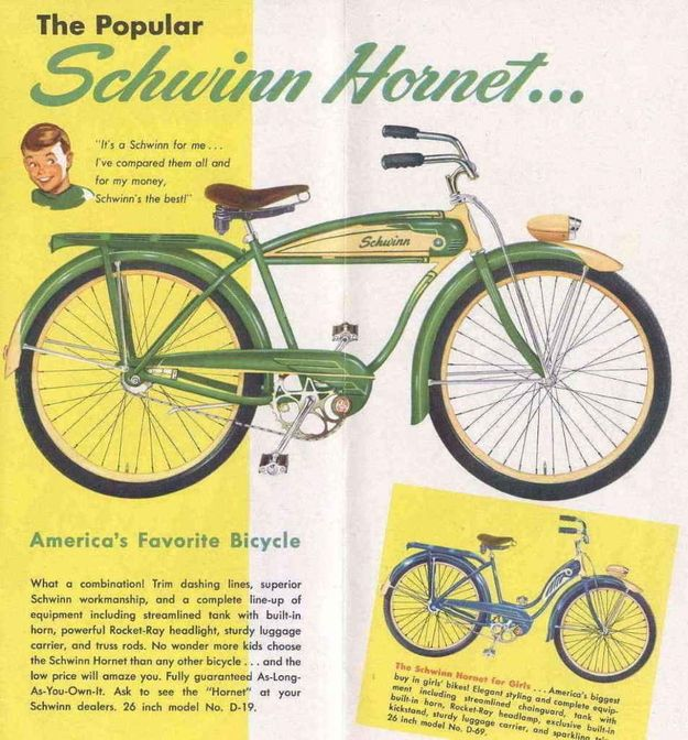 db54d581657 Beautiful Schwinn Ads Through The Years | Schwinn Classics | Vintage  bicycles, Bicycle, Vintage bikes