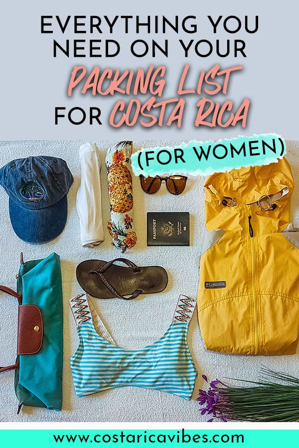 The Full 2019 Costa Rica Packing Listing For Ladies