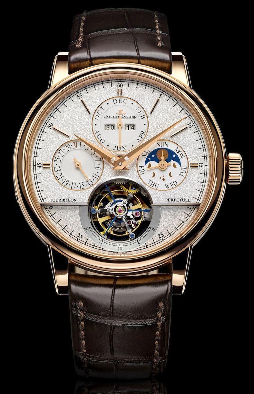 Jaeger LeCoultre Master Grande Tradition Tourbillon Cylindrique a Quantieme Perpetuel Watch