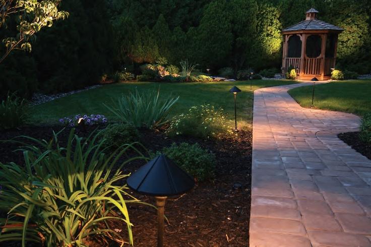 Zarządzanie oświetleniem elewacyjnym i ogrodowym