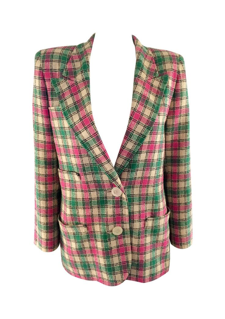 Valentino Wool Blazer - 1980s via House of Pre-Loved - Vintage Boutique. Click on the image to see more!
