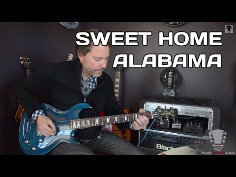 How to Play Sweet Home Alabama Guitar Lesson - YouTube