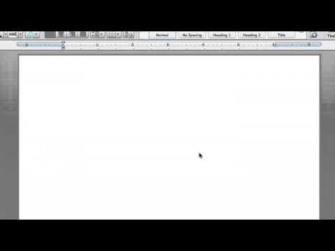 How to Get Graph Paper on Microsoft Word : Microsoft Word Help - YouTube