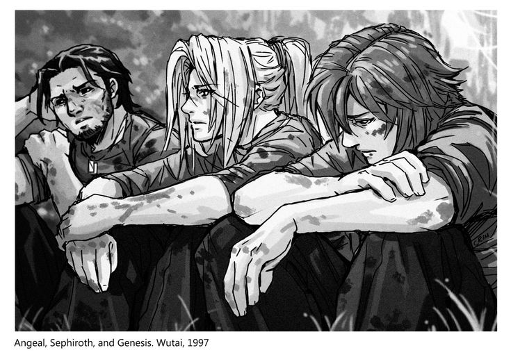 *I will... Never be a memory* Sephiroth club