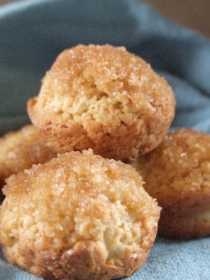 Melt in your mouth mini muffins...from Little House on the Prairie Living...