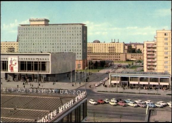 allee karl marx- old communist berlin