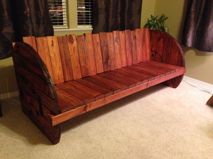 87 best images about project ideas on pinterest for Wooden reel furniture