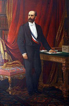 Federico Errázuriz Zañartu - Octavo Presidente de Chile 1871 - 1876