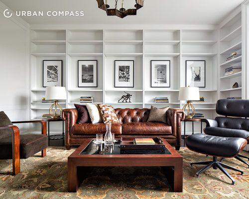 #excll #дизайнинтерьера #решения Интерьер обставлен в очень традиционном классическом стиле богатых домов Нью Йорка.