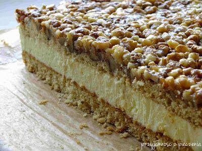 Przyjemność z pieczenia: Orzechowiec czyli cud, miód i orzeszki