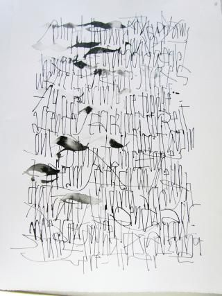 Asemic calligraphy, Thomas Ingmire