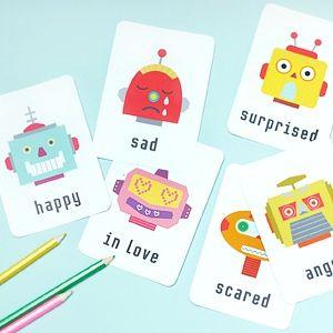 Free Printable Flash Cards - Mr Printables. Alphabet, numbers, vocab, shapes & colours