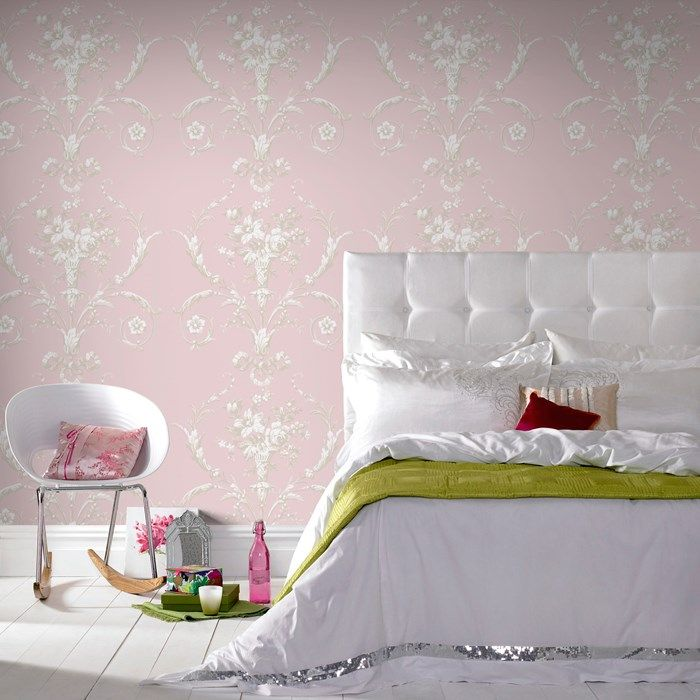 De Lacey Pink Floral Wallpaper   Flower Wall Coverings By Graham Brown.  Decorating SuppliesDecorating IdeasPink ... Part 83