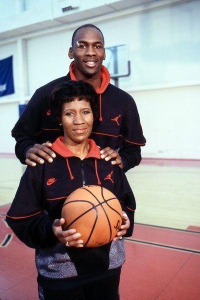 0ac2518ab77608 Michael Jordan and His Mom