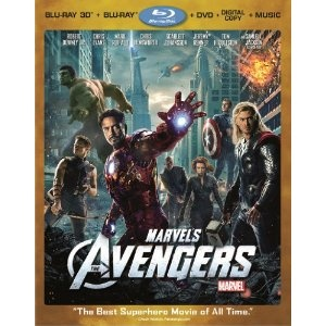 Amazon.com: Marvel's The Avengers (Four-Disc Combo: Blu-ray 3D/Blu-ray/DVD + Digital Copy + Digital Music Download): Robert Downey Jr., Chris Evans, Mark Ruffalo, Chris Hemsworth, Scarlett Johansson, Jeremy Renner, Tom Hiddleston, Samuel L. Jackson, Joss Whedon: Movies & TV
