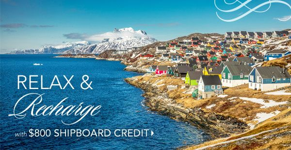 Insignia's Northeastern Quest invites you to escape the daily routine and be reminded of the things that make life a wondrous experience. Marvel at the natural grandeur of Greenland, enjoy the thrill of whale–watching by the light of the midnight sun in Iceland plus so much more.