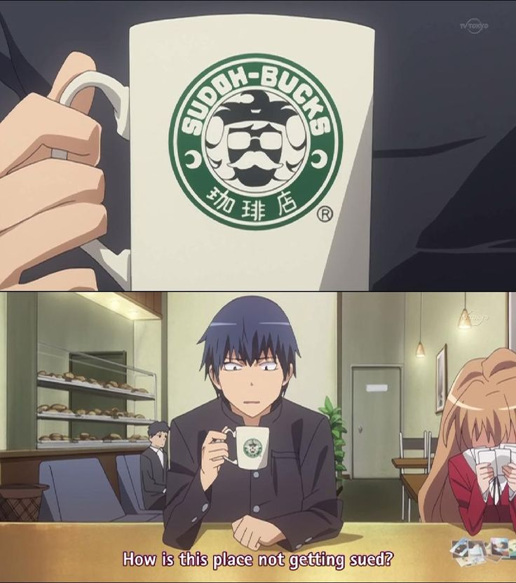 That's what I thought too about Sudoh-Bucks lol. -- Toradora!, anime, funny moments, scenes