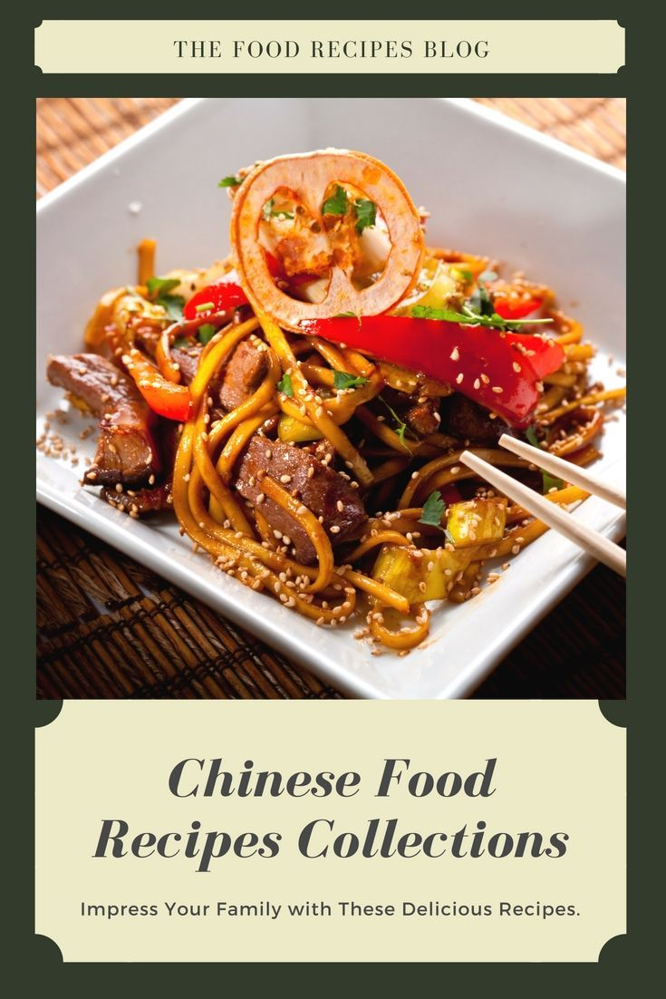 Check Out Local And Traditional Chinese Food Recipes Libraries For