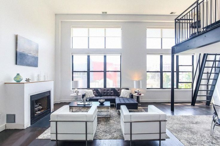 Contrasting elements always give edge to your living room.