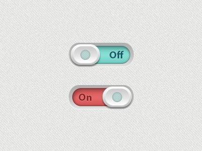 Dribbble - Toggle Buttons by designXtreme (Arpit Tilak)