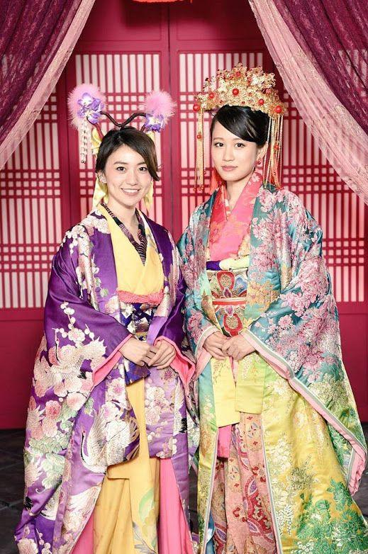 Yuko and Acchan in 43rd Single 「Kimi wa Melody」#AKB48