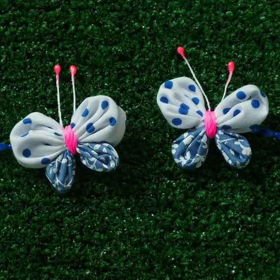 Fabric tutorial  Yo Yo butterfly  Pattern  PDF easy by Soles, $6.50