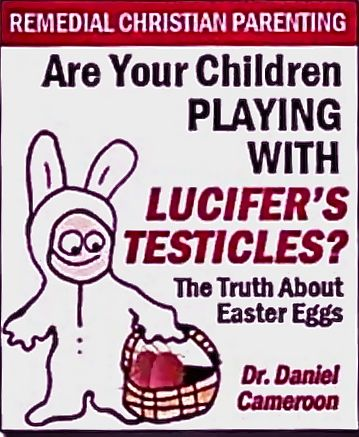 The truth about Easter eggs    HAHAHAAHAAHAAAHAAA!!!   lame.: Laughing, Christian, Lucifer Testicl, Book, Funny Stuff, Truths, Easter Eggs, Humor, Wtf