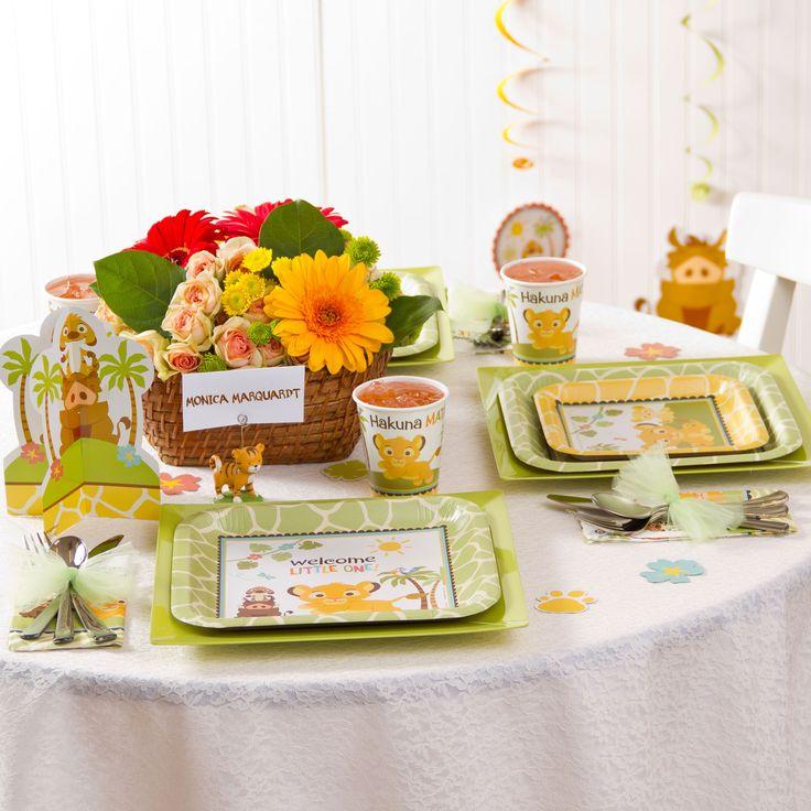 Lion King Baby Shower Supplies   Love The Flower Centerpiece