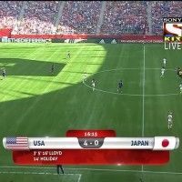 Watch the full match of FIFA Women's World Cup Final USA vs JAPAN between only on Sony Kix