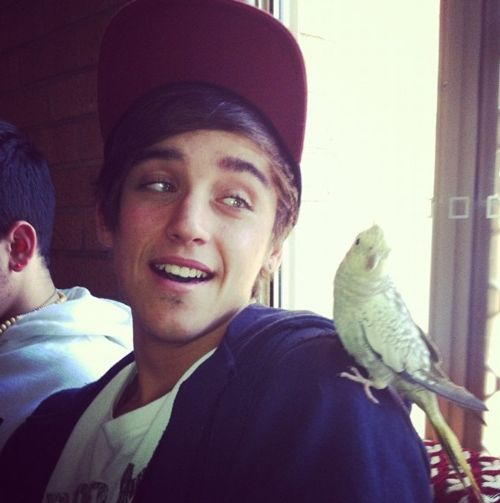 Beau. I need to go to Australia so I can see his eyes & hear his beautiful Australian accent. Haha.