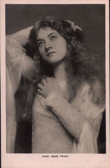 Silent film actress, Maude Fealy.