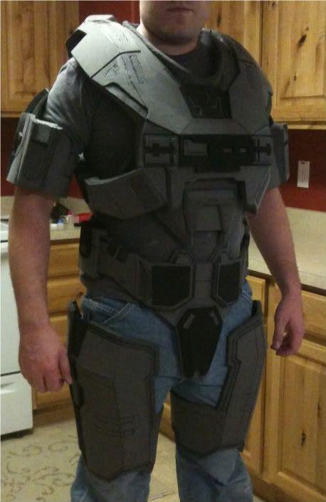 halo reach armor foam google keress - Halo Reach Halloween Costume