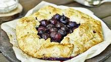 This dessert features flaky dough with a touch of tanginess