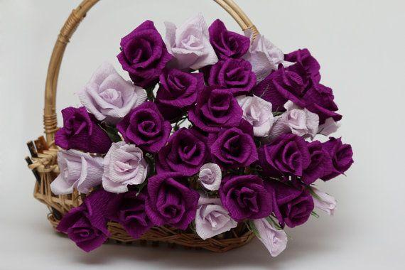 Flores de la boda morado intenso púrpura boda por FlowerDecoration                                                                                                                                                                                 Más
