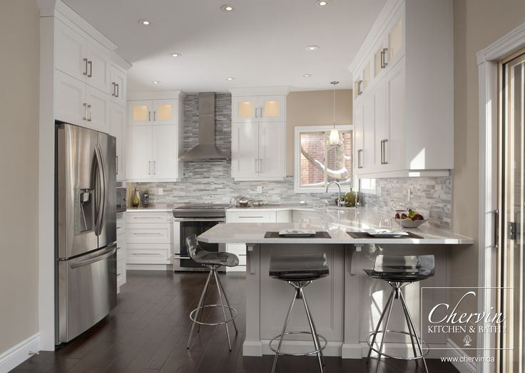 92 best images about kitchen reno on pinterest white for Classic small kitchen designs