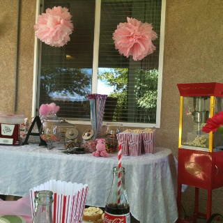 Carnival theme bridal shower