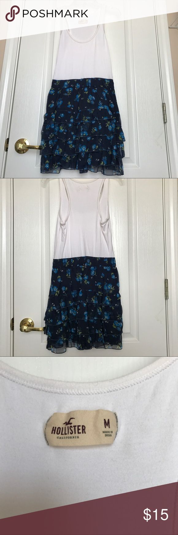 Hollister Dress Hollister dress, great condition, and is in size medium Hollister Dresses Strapless