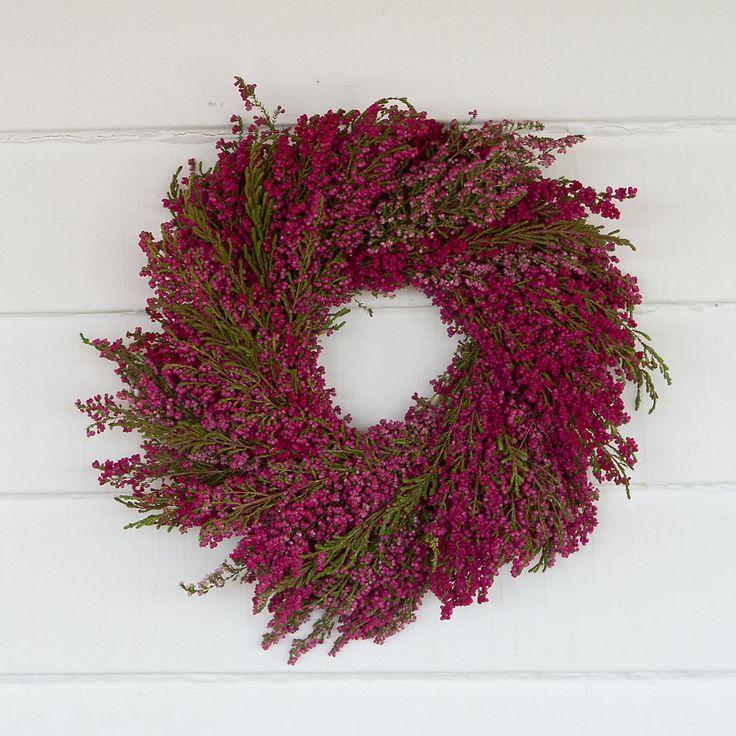 Heather Wreath in New SHOP Gardening at Terrain