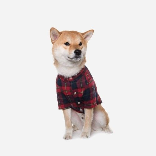 Flannel Checked Shirt - Red