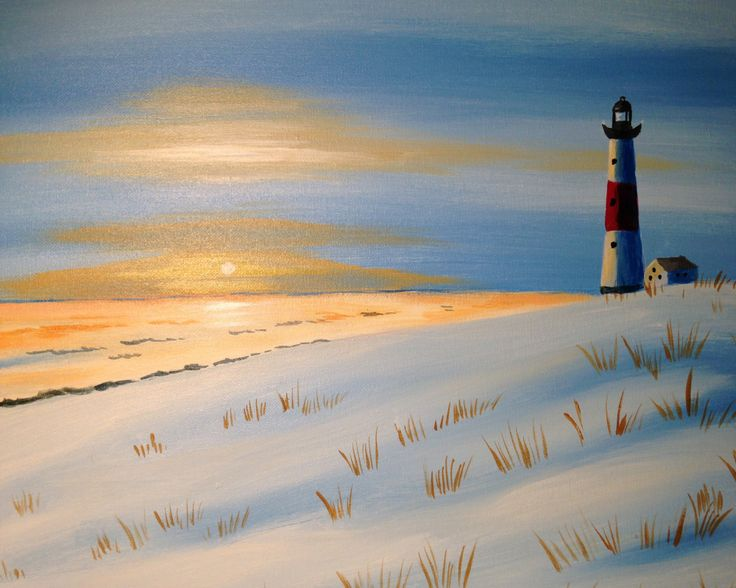 I am going to paint Winter Solitude at Pinot's Palette - Buffalo-Amherst to discover my inner artist!