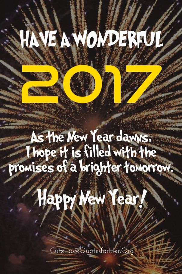 Happy New Years 2017 Greeting Cards